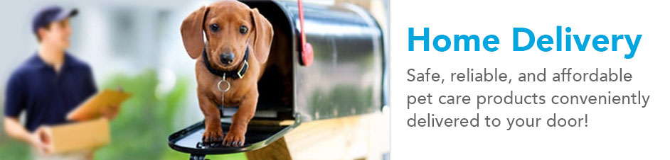 We Deliver Pet Care Product to Your Home